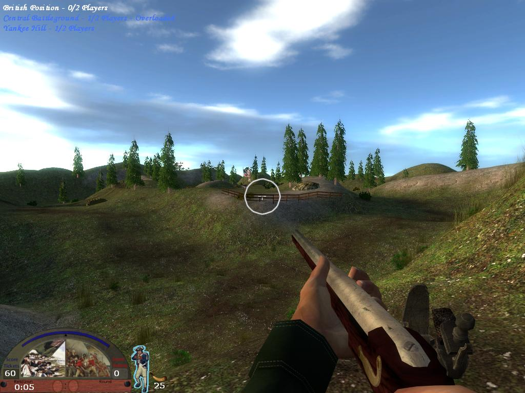 Screenshot of map BG_Plateau in BG2 2.1